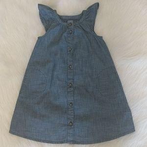 BABY GAP Chambray Lightweight Dress